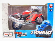 "LOT 13275 | Maisto 2 Wheelers ""aprilia RSV 1000 R "" Die-Cast Motorrad 1:18 NEU"