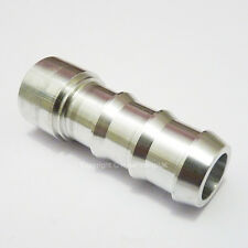 "3/4"" 19MM Aluminium WELD ON BARB Tail Hose Fitting Adapter Fuel Oil Cell Tank"