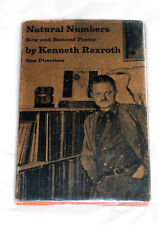NATURAL NUMBERS New Selected Poems KENNETH REXROTH 1963 hardcover OOP Directions