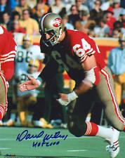Dave Wilcox signed San Francisco 49ers 8x10 photo w/Hof