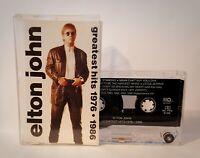 Elton John - Greatest Hits 1976-1986 Cassette