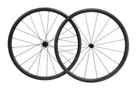 23 30mm Straight pull Full carbon Tubeless Clincher Wheelset for 700C Road Bike