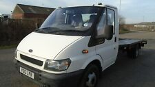 Ford Transit Twin Wheel Car Transporter