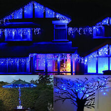 3M 100 LEDs Warm White Blue Pink Red Party Christmas Wedding LED Icicle Lights