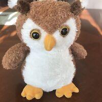 "Mary Meyer Sweet Rascals 8.5"" Plush Stuffed Animal OSGOOD The Owl"