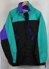 Vintage 90's Columbia Gizzmo Aquaberry Purple Teal Black Jacket Sz XL
