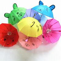 Kids Boy Girls Mini Animal Ears Cartoon Dance Lovely Small Umbrella Gift Toys