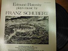 33 RPM Vinyl Edmund Battersby plays Music by Franz Schubert Musical 011315SM