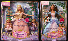 Erika Barbie Doll Anneliese Kelly Giftset Princess and the Pauper 4 Dolls VG ""