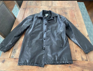 Roots Black Leather Jacket - Barnaby S/P