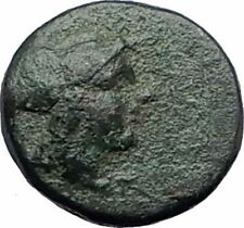 LYSIMACHEIA Thrace LYSIMACHOS City 309BC Ancient Greek Coin ATHENA GRAIN i63791