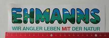 Aufkleber/Sticker: Ehmanns - Wir Angler Leben MIT Der Natur (19021718)