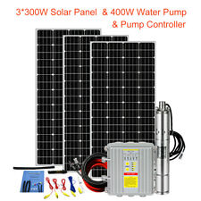 Eco-worthy L070501010041 Solar Powered Swimming Pool Pump with MPPT Controller