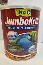 Tetra JumboKrill Freeze Dried Jumbo Shrimp Fish Food Free Shipping