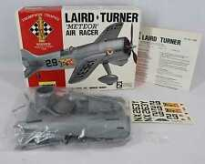 Lindberg 1992 70562 Laird Turner Meteor Air Racer 1:32 Scale OPEN BOX - NEW