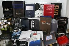 10 gemischte Parfum Proben Herren Man Cartier Baldessarini und vieles mehr
