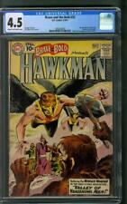 Brave and the Bold 35 2nd Silver Age Hawkman CGC 4.5 Joe Kubert Cover 1961
