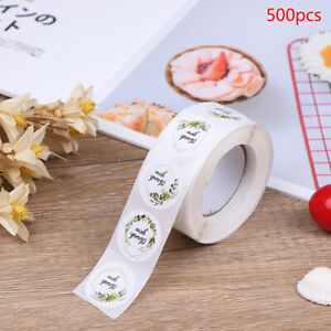 500pcs/roll Thank You Stickers for seal label Sealing decoration Sticker_U.fr