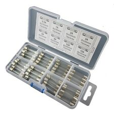 80pcs 6x30mm Quick Fast Blow Glass Assorted Fuse Amp 0.5A1A2A3A5A8A10A15A 250V
