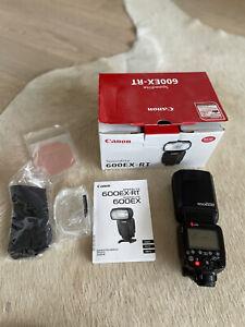 Canon Speedlite 600EX-RT Shoe Mount Flash please see description