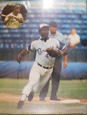 "Hank Aaron ""Atlanta Braves"" 1972 Sports Arts 11x14 Arena Stadium Photo Card Rare"