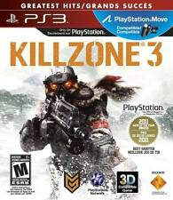 Killzone 3 - Greatest Hits Edition (Sony PlayStation 3 PS3, 2011) MINT! Complete