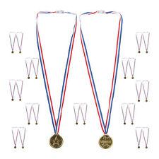 Goldmedaille Kinder 24er Set Medaillen Set Auszeichnung Siegermedaille Plastik