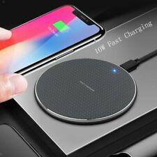 Cargador Inalámbrico 10W para Samsung Galaxy S9 S8 Plus Nota 8 Nota 5 S7 Borde