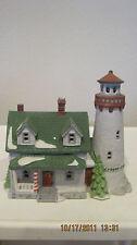 Dept 56 - New England Lot 5: Craggy Cove Lighthouse - Captain'S Cottage - Access
