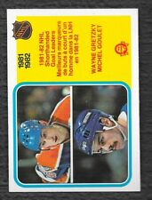 1982 O-Pee-Chee Wayne Gretzky Michel Goulet Goal Leaders #237 Pack Fresh NM-MT 2