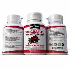 Best Herb Tongkat Ali Root Extract 200:1 Dietary Supplement - 60 Vegetarian Capsules
