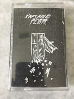 2014 Mateo Cartagena/Sam Ryser INSANE FEAR Spoken Word Cassette Tape warthog