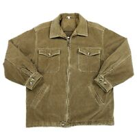 Vintage Fieldmaster Full Zip Quilted Lined Corduroy Jacket Mens Size Large