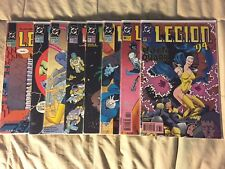 L8 DC L.E.G.I.O.N  Comic Books '91-94 34 35 37 43 51 52 65 67 Legion MINT