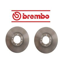 NEW Set of 2 Disc Brake Rotors Brembo 25012 Fast Shipping