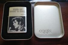 2001 Elvis King of Rock 'N Roll Zippo Lighter UNUSED Sealed in Original Box