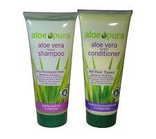 ALOE PURA ALOE VERA SHAMPOO & CONDITIONER - DRY- DAMAGED HAIR
