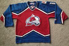 COLORADO AVALANCHE Large Jersey Burgundy and Blue #16 CCM NHL Hockey