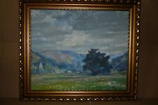 Germany Gustav Schmidt Goertz 1889-1965 O/C Austria Zillertal Tirol Landscape