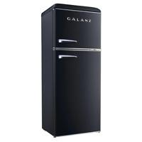 Galanz Top Freezer Refrigerator 10.0 cu. ft. Retro with Dual Door True Freezer