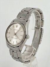 Rolex Oyster Perpetual Ref 1002 Herren Armbanduhr Stahl Automatik 60er Jahre