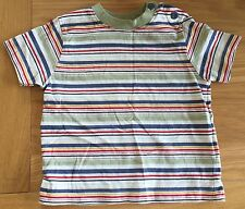 Baby Boys Striped Short Sleeved T-shirt Size 0-3 Months