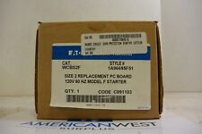 Eaton Cutler Hammer WCBS2F 1A96695F51 SIZE 2 REPLACEMENT PC BOARD - NEW