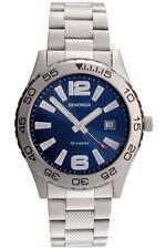 Sekonda 3253 Gents Quartz Analogue Date Stainless Steel 50m Watch RRP £59.99