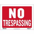 No+Trespassing+Sign%2C+Durable+Plastic%2C+Weatherproof%2C+9+Inch+x+12+Inch