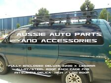 Fully Enclosed Deluxe Steel Roof Rack 2200mm for Mitsubishi Delica L400 Hi Roof