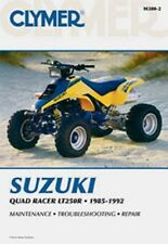 Clymer Repair Service Shop Manual Suzuki LT250R 85,86,87,88,89,90-92  Quad Racer