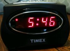Timex Extra Loud Digital Alarm Clock T101B Ac120v Battery Backup