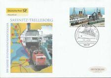 Briefmarken mit Eisenbahn-Motiven aus der Bundesrepublik