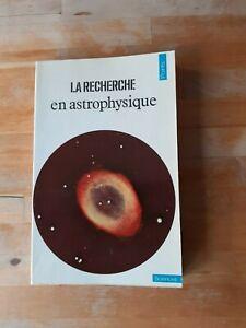 La recherche en Astrophysique - Points Sciences (1977)